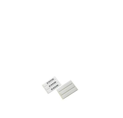 Paq. 100 etiquetas adheribles AM 58KHZ Mod:R011