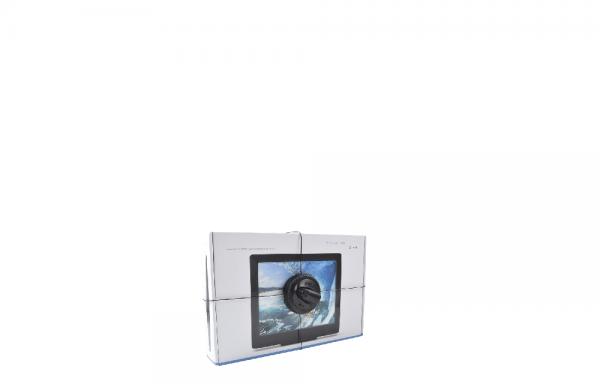 Tag para empaque tipo caja de equipo electrónico: Tabletas, Celulares color Negro Mod: T511/2AB